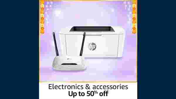 Up To 50% Off On Electronics And Accessories