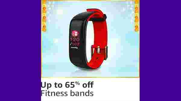 Up to 65% Off On Fitness Bands