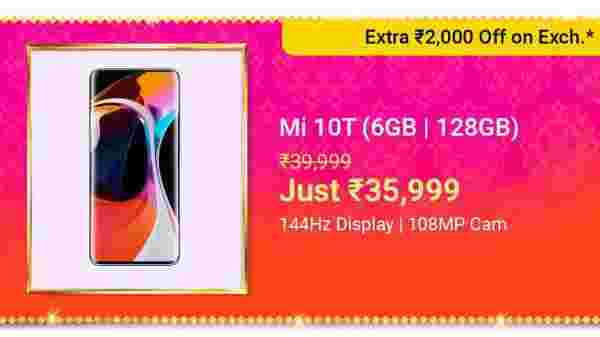 16% Off On Mi 10T Pro