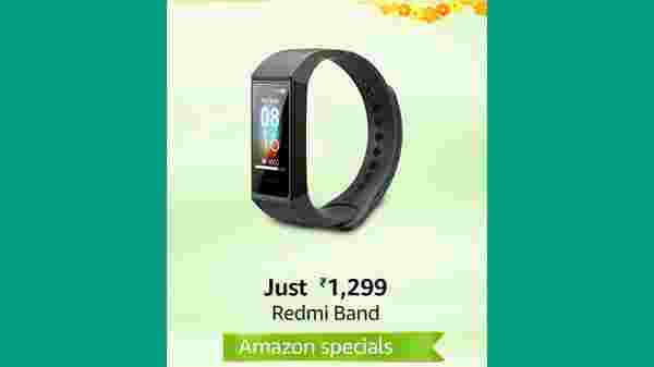 23% Off On Redmi Smart Band - Black