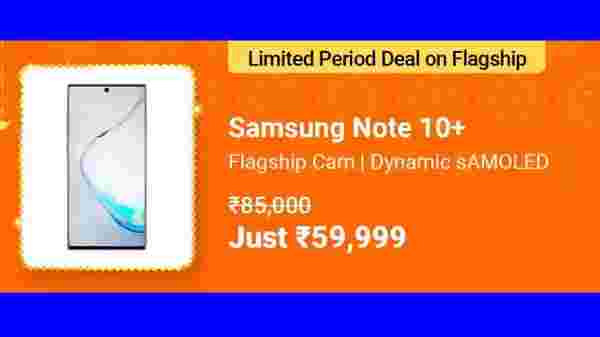 29% Off On Samsung Galaxy Note 10 Plus