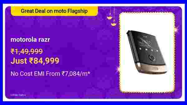 43% Off On Moto Razr