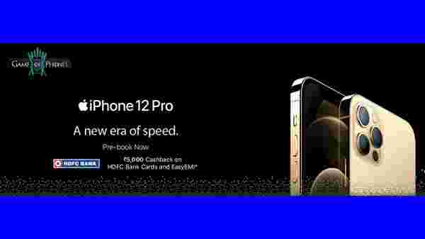 Apple iPhone 12 Pro Offer (Rs. 5,000 Cash Back Offer)