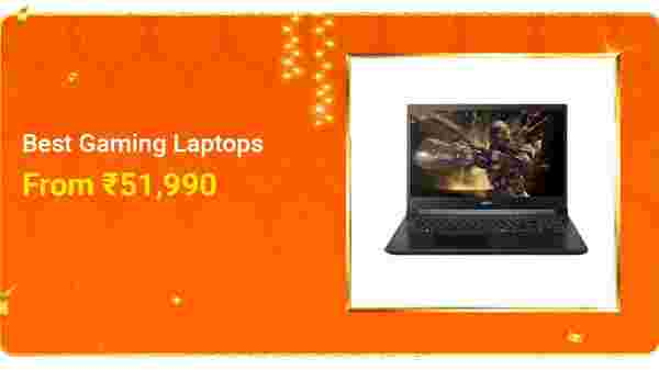 Bestselling Laptops Starting From Rs. 51,999