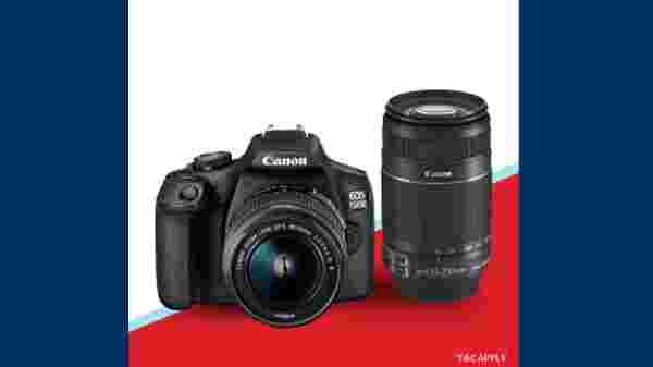 DSLR Cameras Starting From Rs. 29,990