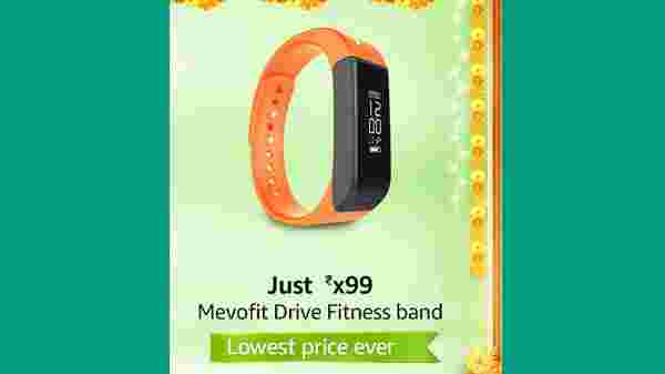 MevoFit Drive Fitness Band (MRP: Rs. 3,999, After Discount Price Rs.1,299 )