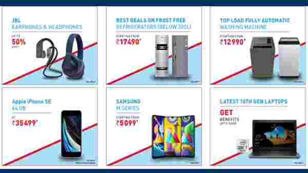 Reliance Digital Festival Special Offers On Electronics Gadgets