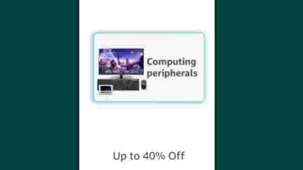 Up to 40% Off On Computing Peripherals