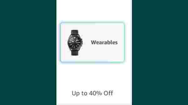 Up to 40% Off On Wearables