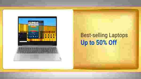 Up To 50% off On Best Selling Laptops