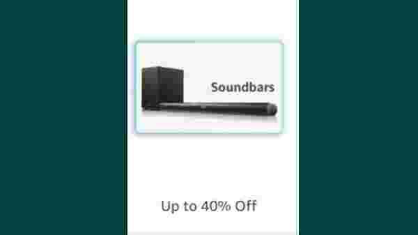 Up to 50% Off On Soundbars