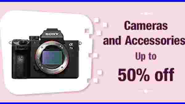 Up To 60% Off On Camera And Accessories