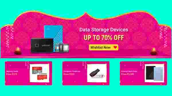 Up To 70% Off On Data Storage Devices