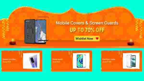 Up To 70% Off On Mobiles Covers And Screen Guards