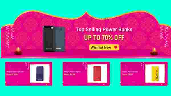 Up To 70% Off On Top Selling Power Banks