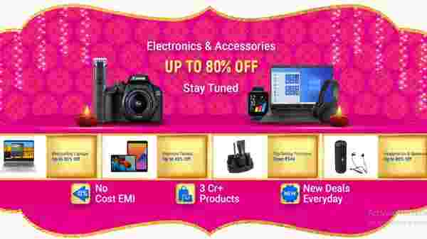 Up To 80% Off On Electronics Accessories