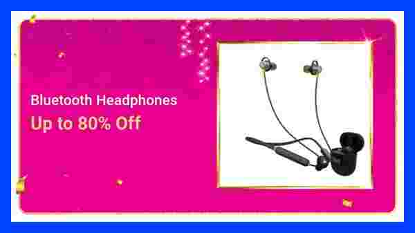 Up to 80% Off On Headphones