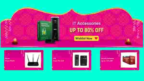 Up To 80% Off On IT Accessories
