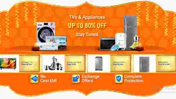 Up To 80% Off On Tvs And Appliances