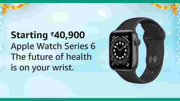 Apple Watch 6 Starting From Rs. 40,900