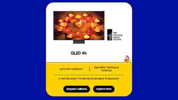 Buy Samsung QLED 4K TV And Get A Samsung Galaxy S20 Ultra Smartphone