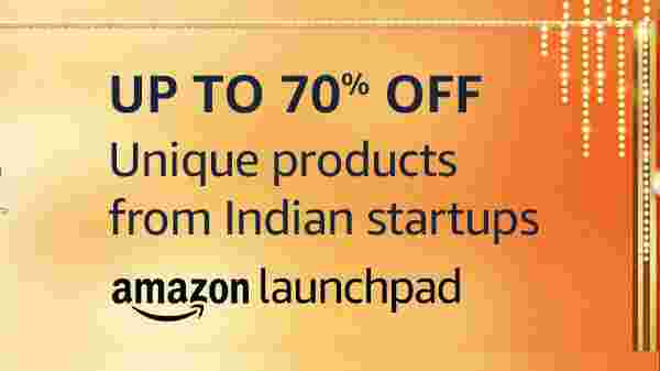 Grab exciting deals and offers from emerging brands and start-ups from Amazon Launchpad: