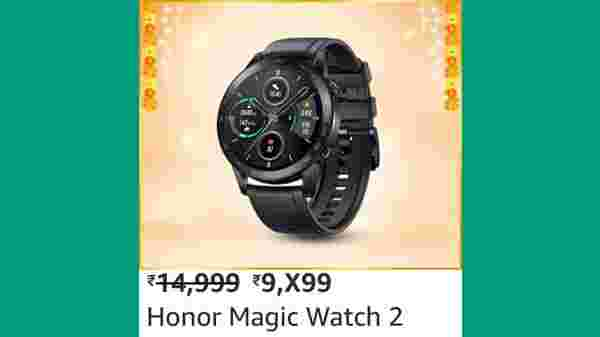 HONOR Magic Watch 2 (MRP: Rs. 14,999, After Discount Price Rs.9,499 )