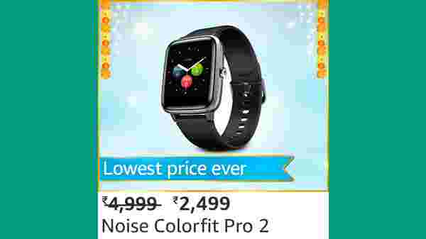 Noise Colorfit Pro 2 (MRP: Rs. 4,999, After Discount Price Rs.2,499 )