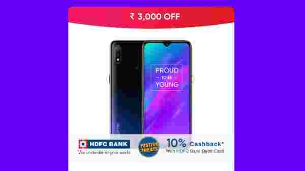 Realme 3 (Rs.3,000 Off)