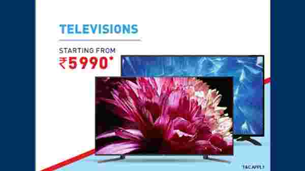 Smart TVs Starting From Rs. 5,990