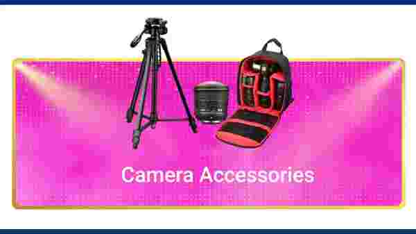 Up to 30% Off On Camera Accessories