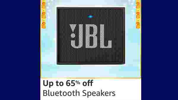 Up To 65% Off On Bluetooth Speakers