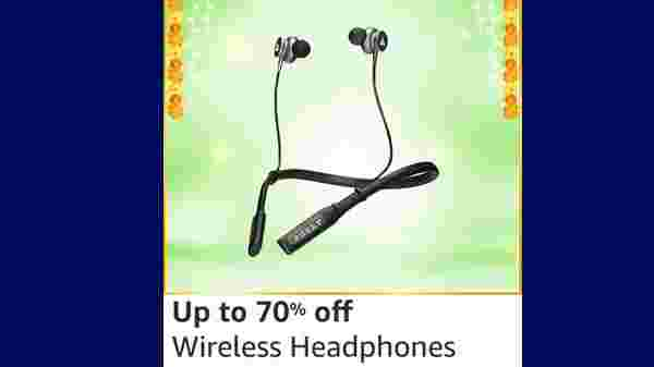 Up To 75% Off On Wireless Headphones