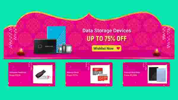 Up To 75% Off On Data Storages