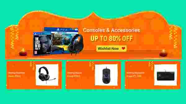 Up To 80% Off On Gaming Consoles And Accessories