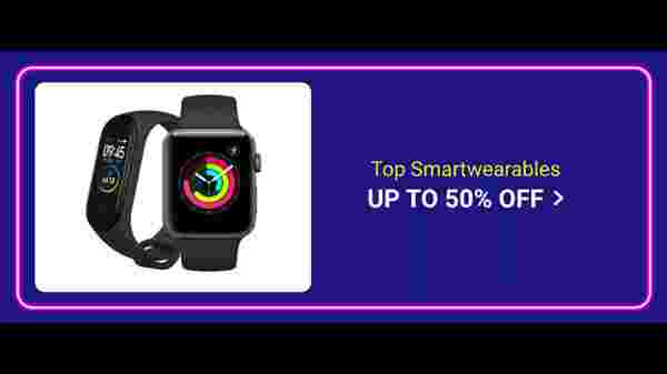 Up To 50% Off On Smart Wearables