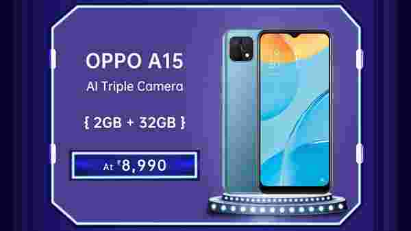 23% Off On OPPO A15