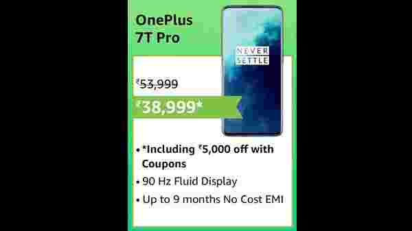 19% Off On Oneplus 7T PRO Haze Blue
