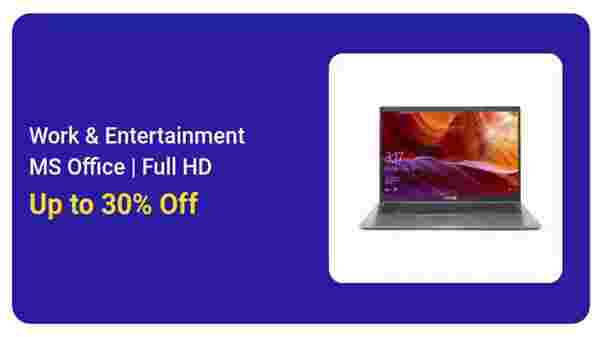 30% Off On Work And Entertainment Laptops