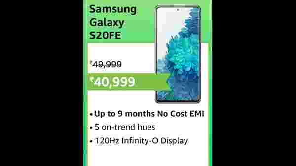 40% Off On Samsung Galaxy S20 FE