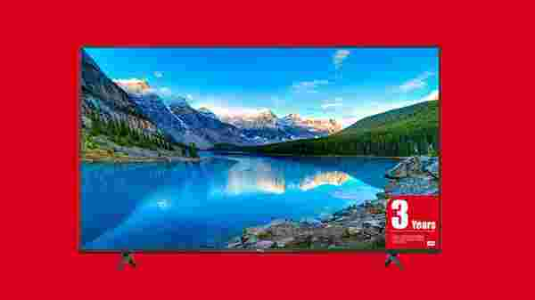 40% Off On TCL 43P615 43 (107.9 cm) Android Smart 4K Ultra HD Smart LED TV