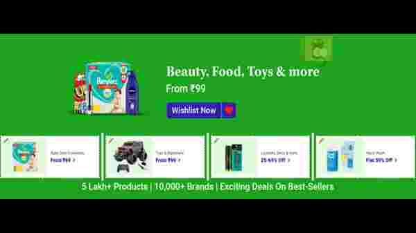 Beauty, Food, Toys, And More Products From Rs. 99