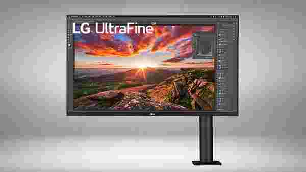 LG UltraFine Display Ergo 32-inch 4K HDR10 monitor