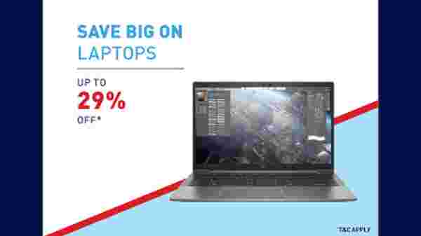 Up To 29% Off On Laptops