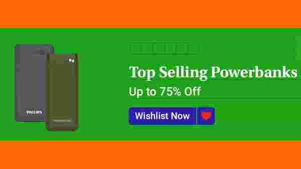 Up To 75% Off On Top Selling Power Banks