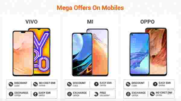 Up To 35% Off On Mega Offers On Mobiles