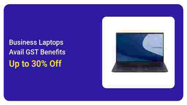 30% Off On Business Laptops