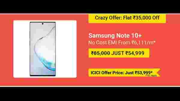 35% Off On Samsung Galaxy Note 10 Plus