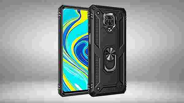 Bounce back shockproof transparent tpu + pc ring stand grip back case/cover