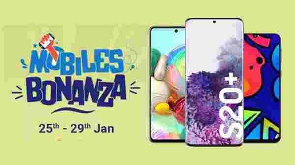 Flipkart Mobile Bonanza: Offers On Samsung F41, Galaxy S20+,  Galaxy A21s, Galaxy A51, And More